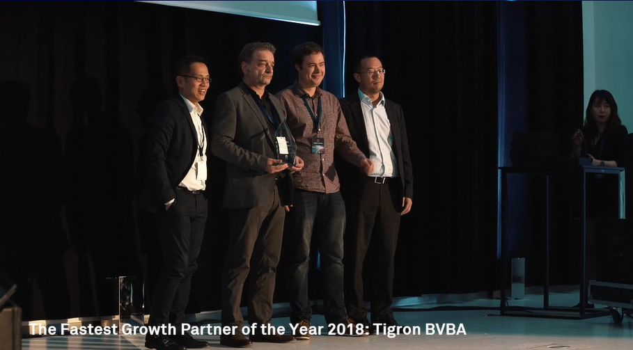 FASTEST GROWTH PARTNER OF THE YEAR 2018